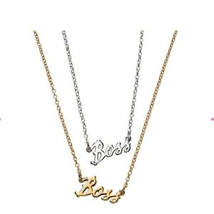 B0SS NECKLACE